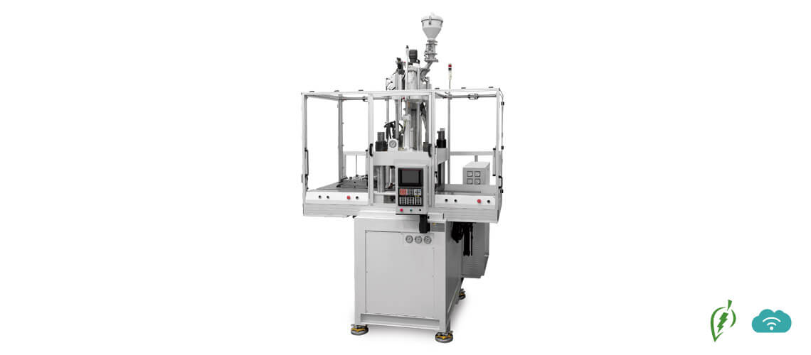 Vertical Double Shuttle Table Injection Machine